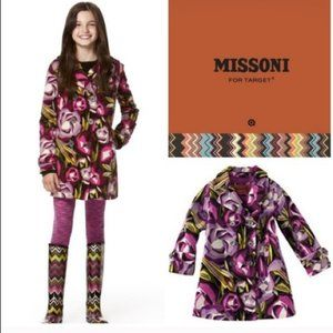 Missoni for Target m trench Coat jacket 18 24 kids